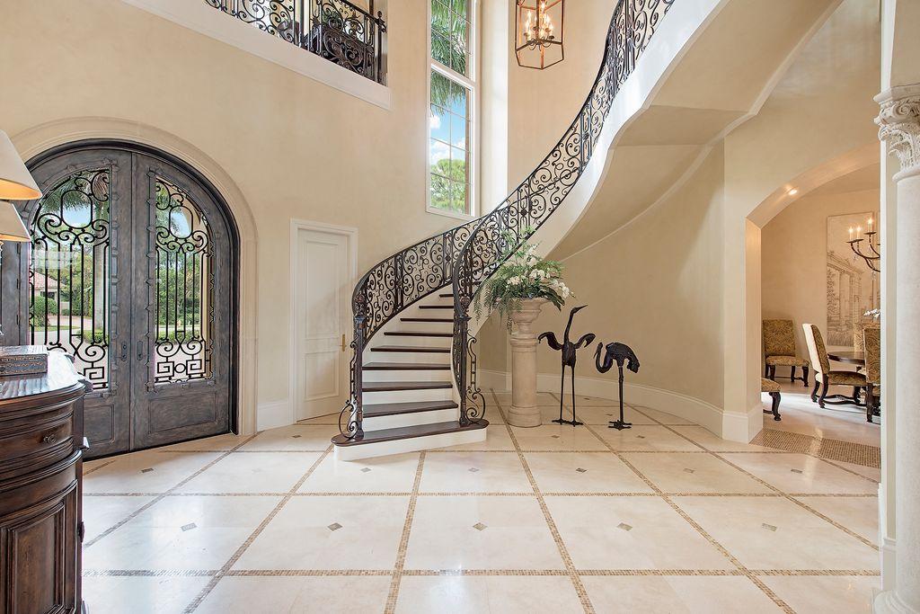Serpentine Stairway in Naples FL